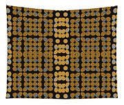 Silver And Gold Ezekiel Tapestry