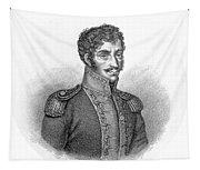 Simon Bolivar Venezuelan Statesman, Soldier, And Revolutionary Leader Tapestry