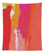 Slow Burn- Abstract Art By Linda Woods Tapestry