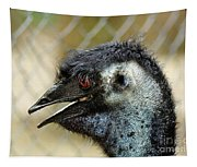 Smiley Face Emu Tapestry
