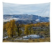 Snow Falls On Autumn Tapestry