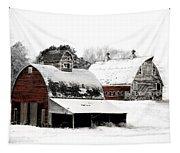 South Dakota Farm Tapestry