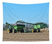 Soybean Harvest Max Tapestry