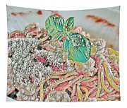 Spaghetti And Shrimp Tapestry