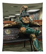 Sparty At Rest Tapestry