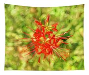 Spider Lily Pop Tapestry