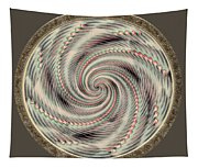 Spinning A Design For Decor And Clothing Tapestry