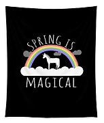 Spring Is Magical Tapestry