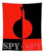 Spy Vs Spy Tapestry
