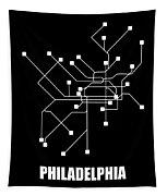 Square Philadelphia Subway Map Tapestry