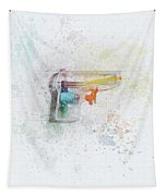 Squirt Gun Painted Tapestry