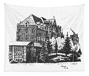 St Charles Hall Carroll College Helena Montana Tapestry