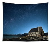 Stars And Midnight Blue Tapestry