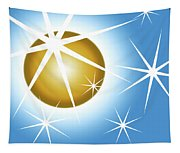Stars And Sphere Tapestry