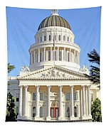State Of California Capitol Building 7d11736 Tapestry