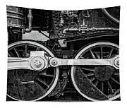 Steam Locomotive Detail Tapestry