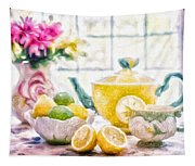 Still Life With Lemons Tapestry
