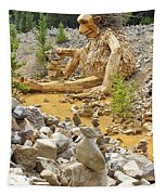 Stone Stacking Tapestry