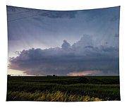 Storm Chasing West South Central Nebraska 048 Tapestry