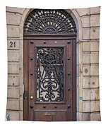 Strasbourg Door 11 Tapestry