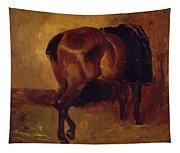 Study For Bay Horse Seen From Behind Tapestry