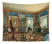 Study In Palais Rasumofsky On Landstrasse In Vienna        Tapestry