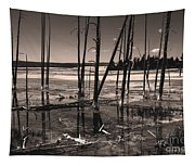 Sulfur Field Tapestry