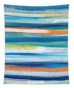 Summer Surf 3- Art By Linda Woods Tapestry