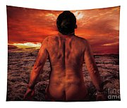 Sun Worshippers Tapestry