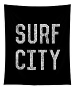 Surf City Tapestry
