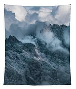 Surrounded By Morning Clouds Tapestry by Jaroslaw Blaminsky