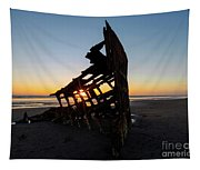 Swallowed By Time Tapestry