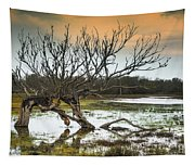 Swamp And Dead Tree Tapestry