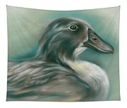 Swedish Blue Duck Tapestry