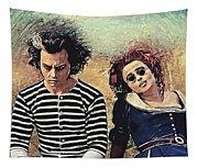Sweeney Todd And Mrs. Lovett Tapestry