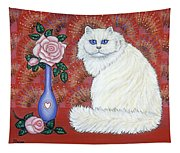 Sweetheart Cat Tapestry