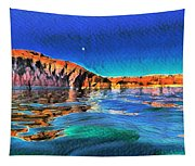 Swells And Reflections Lake Powell Tapestry