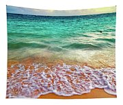 Teal Shore  Tapestry