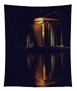 Temple Of Asclepius Tapestry
