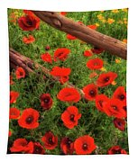 Texas Hill Country Wildflowers Tapestry