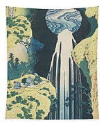 The Amida Waterfall In The Province Of Kiso  Tapestry