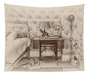 The Antique Sewing Machine Tapestry