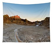 The Badlands And A Sunrise Tapestry