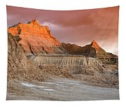 The Badlands With Another Sunrise Tapestry