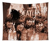 The Beatles Art  Tapestry