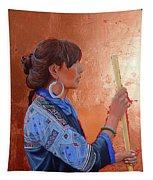 The Black Hmong Princess Tapestry