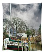 The Calm Before The Storm Tapestry