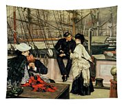 The Captain And The Mate, 1873 Tapestry