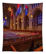 The Chapel At Princeton University  Tapestry by Susan Candelario