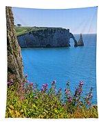 The Cliffs Of Etretat Tapestry